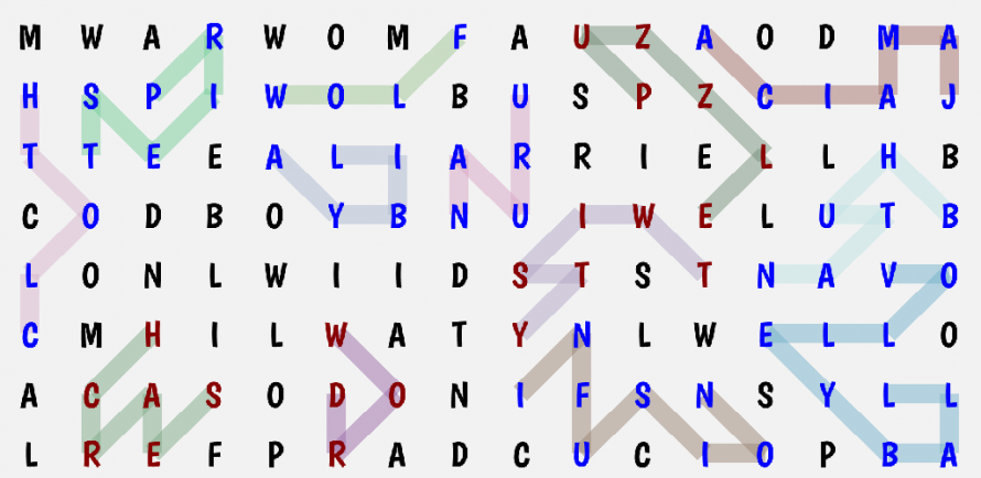 Twisty Word Search 2