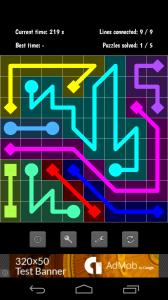 flow puzzle solution